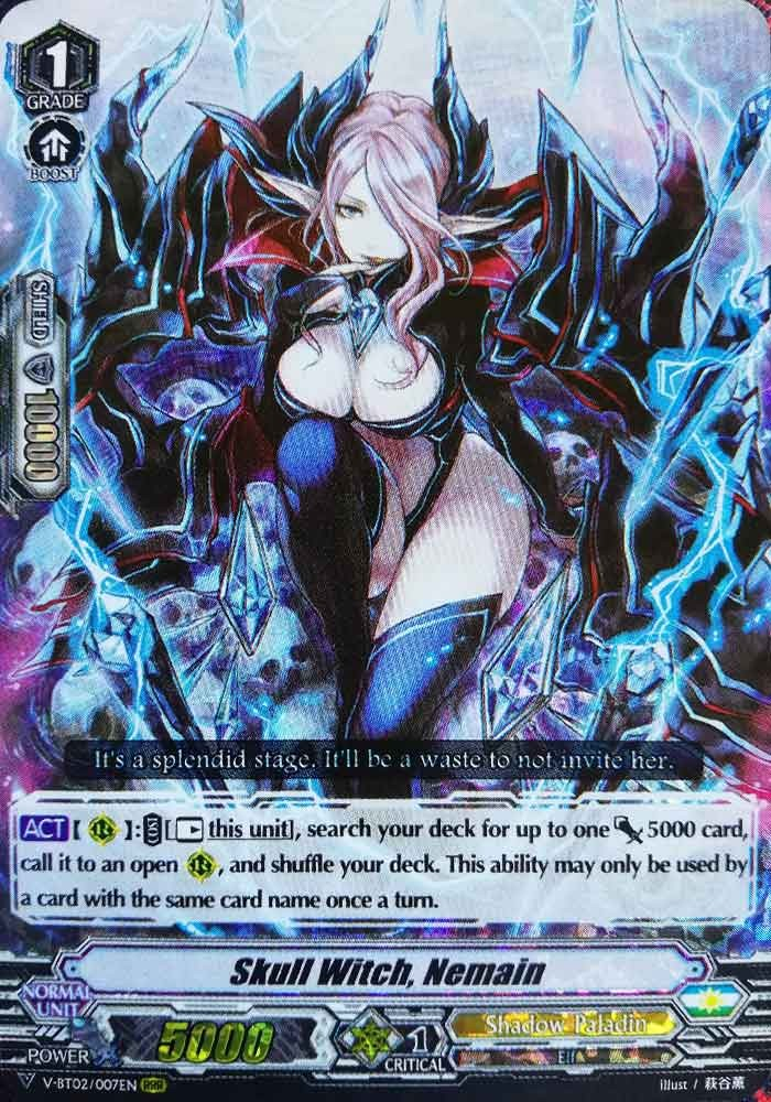 Skull Witch, Nemain V-BT02/007EN RRR