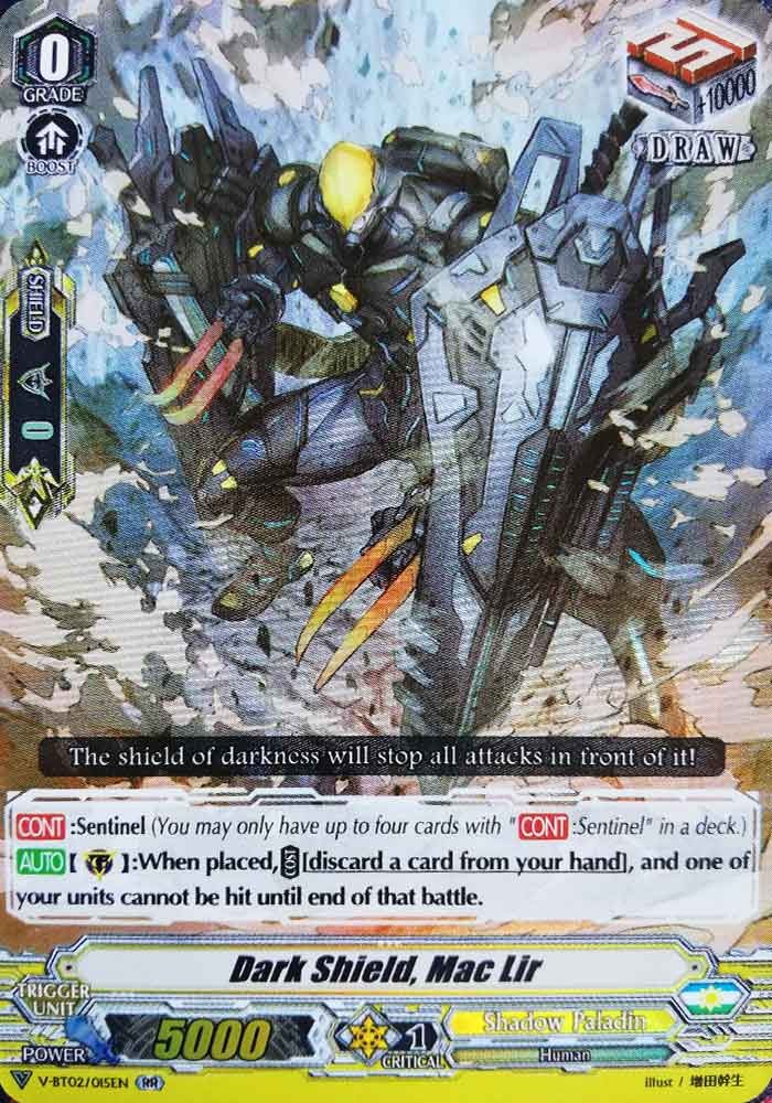 Dark Shield, Mac Lir V-BT02/015EN RR