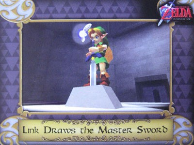 Link Draws the Master Sword #017 Common