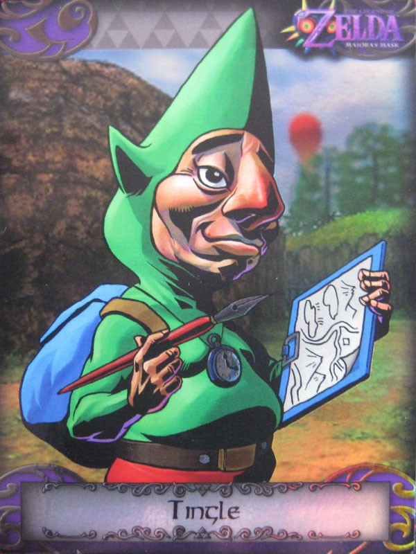 Tingle #96 Parellel Silver Foil