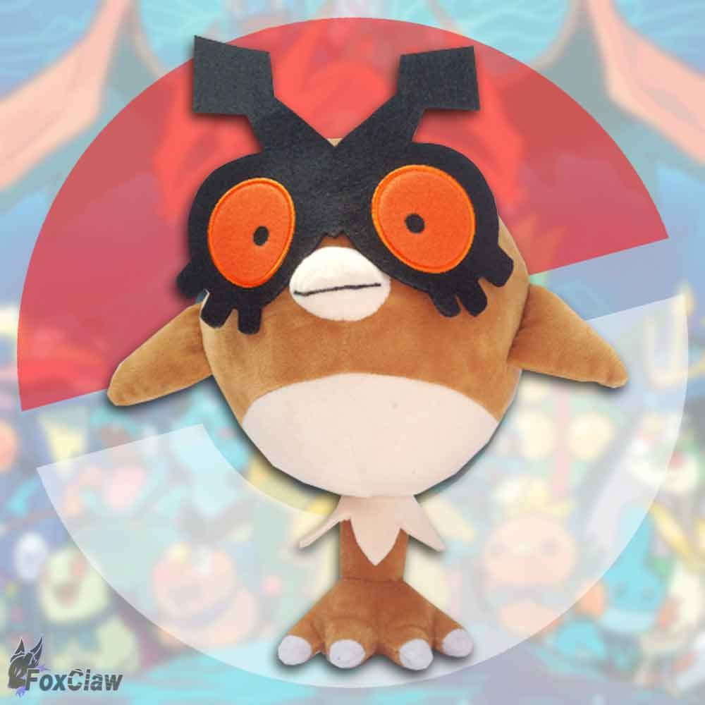 PokéMon Hoothoot Plush ~12 inch / ~30 cm