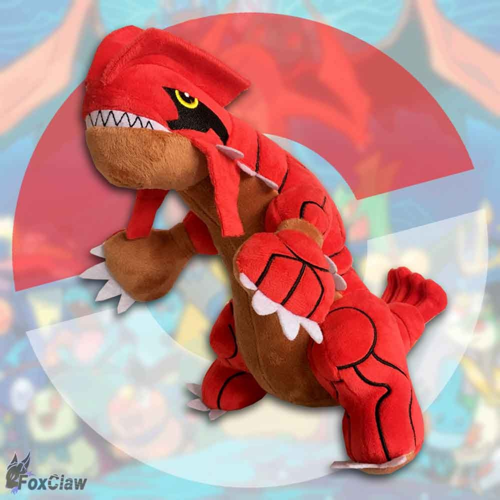 PokéMon Groudon Plush ~12 inch / ~30 cm