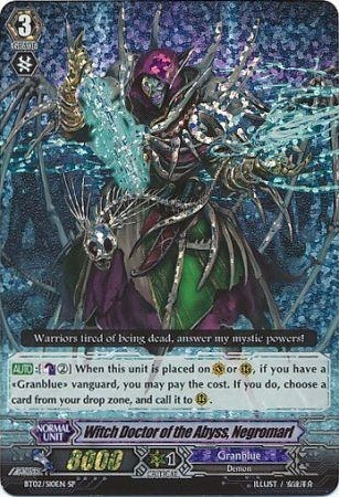 Witch Doctor of the Abyss, Negromarl BT02/S10EN SP