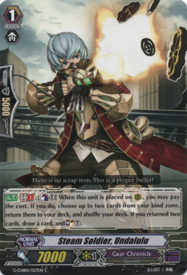 Steam Soldier, Undalulu G-CHB01/057EN C