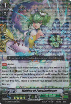 Maiden of Passionflower G-CHB01/Re:08EN Re
