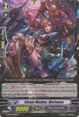 Steam Maiden, Merianna G-TD06/006EN C