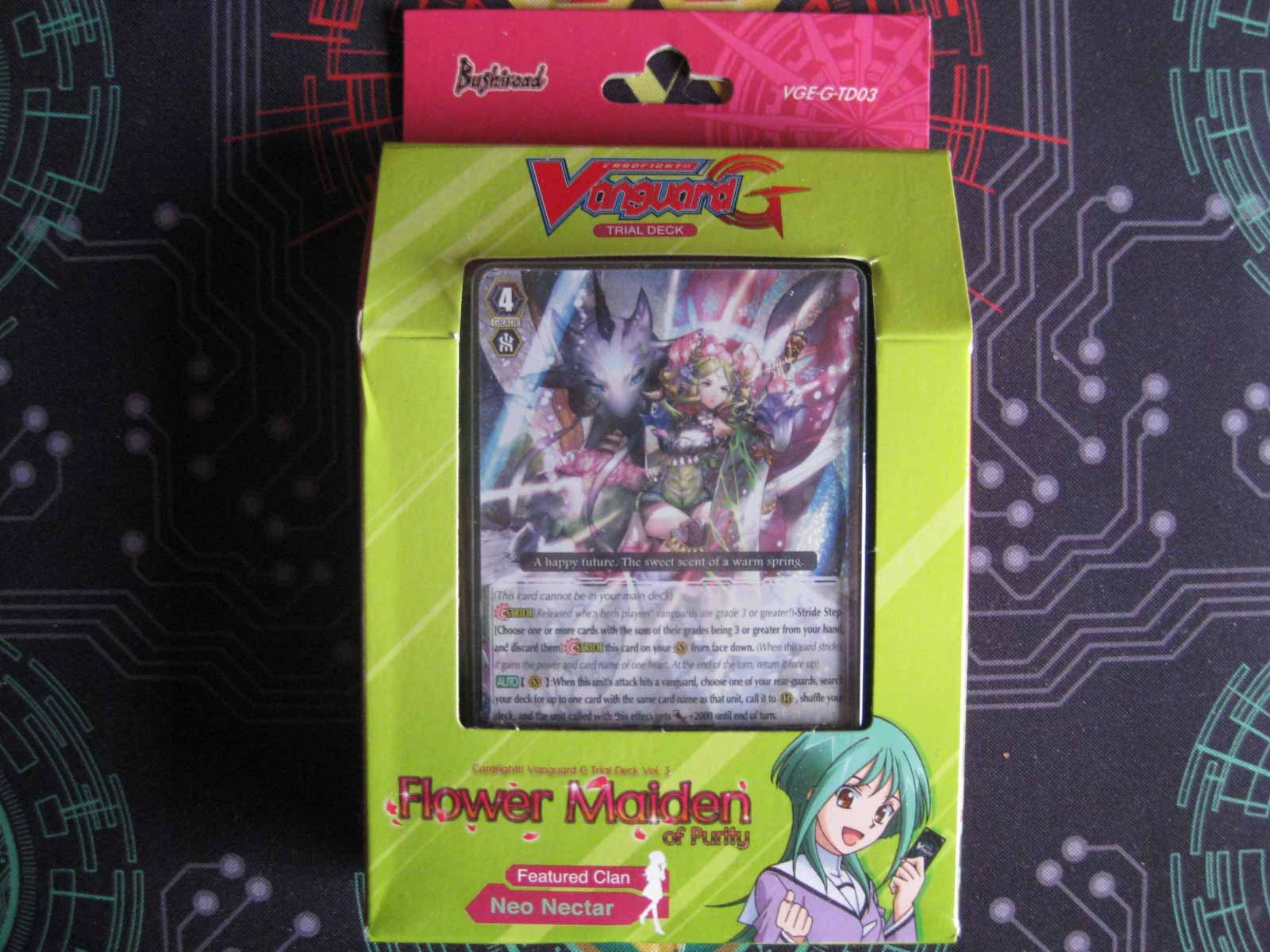 Trial Deck: Flower Maiden of Purity VGE-G-TD03