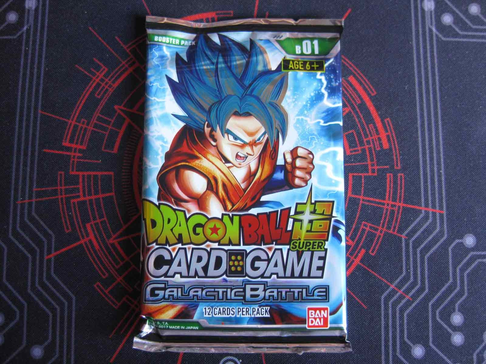 Dragon Ball Super Booster Pack: Galactic Battle B01: Goku SSGSS Pack