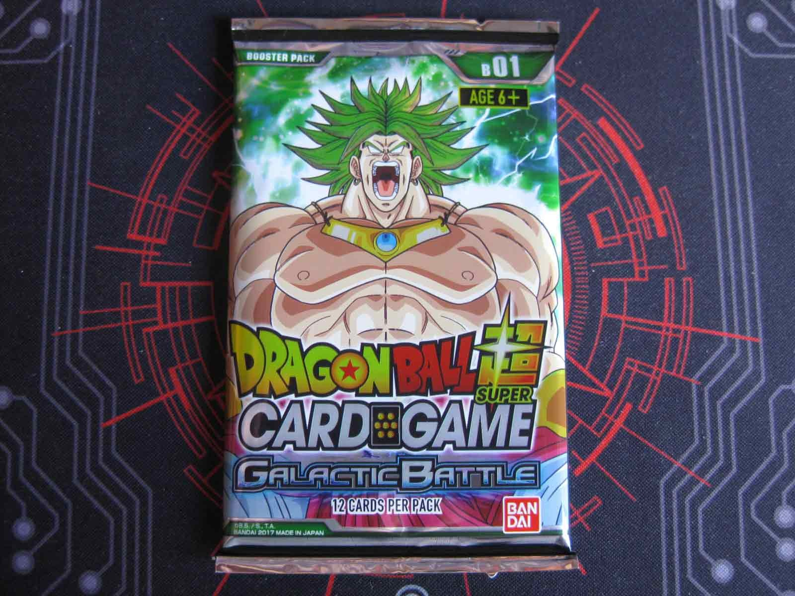Dragon Ball Super Booster Pack: Galactic Battle B01: Broly Pack