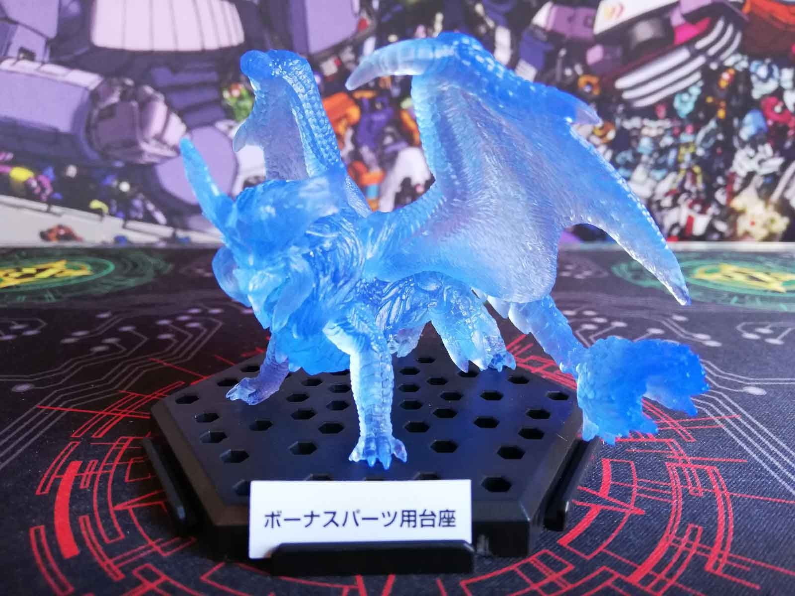 Lunastra (Clear Blue) :: Monster Hunter World Figure Builder Plus Volume 13