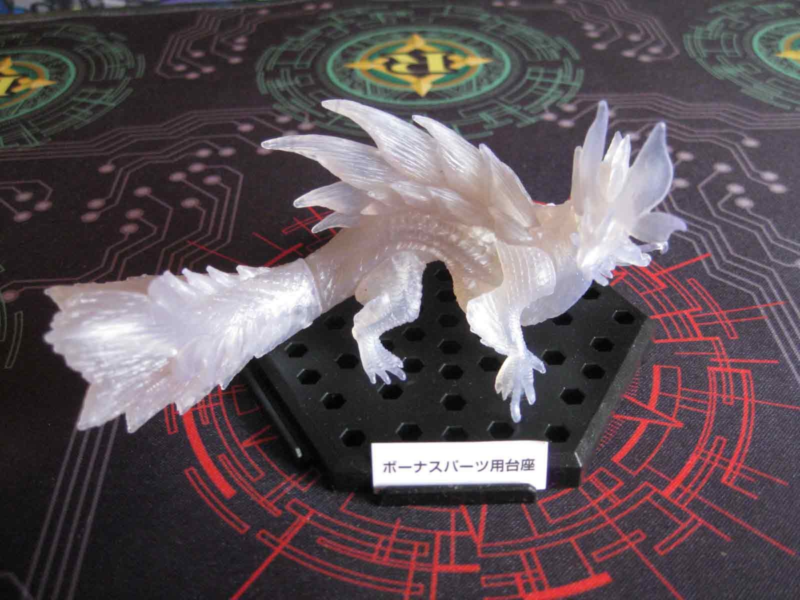 Mizutsune (Clear White) :: Monster Hunter Figure Builder Plus Volume 5