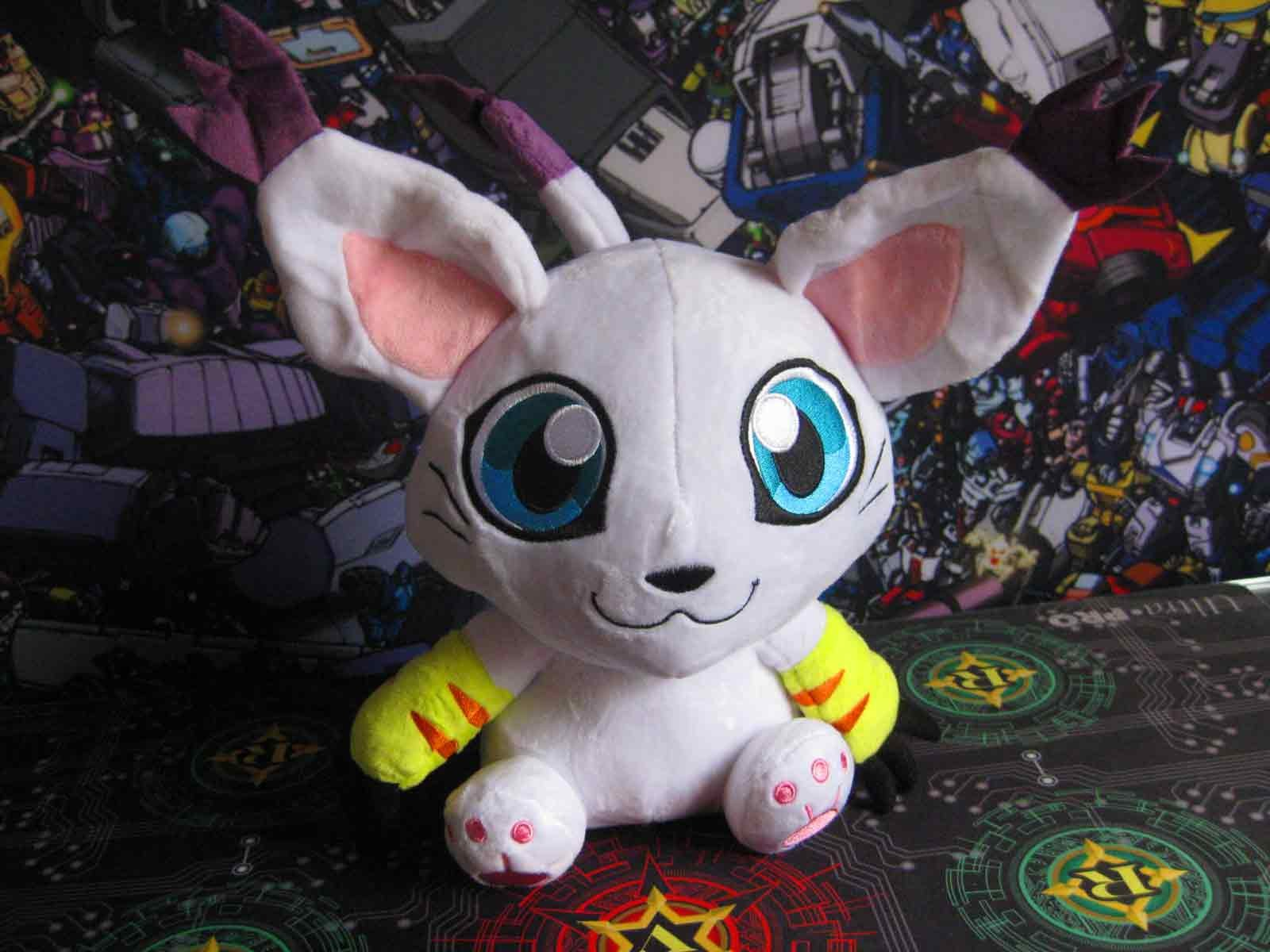 DigiMon Tailmon Plush ~12 inch / ~30 cm