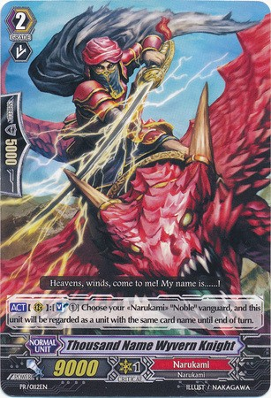 Thousand Name Wyvern Knight PR/0112EN