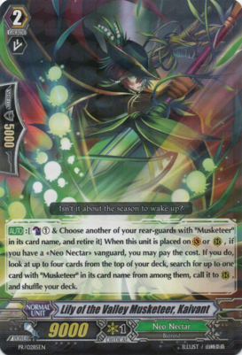 Lily of the Valley Musketeer, Kaivant PR/0285EN