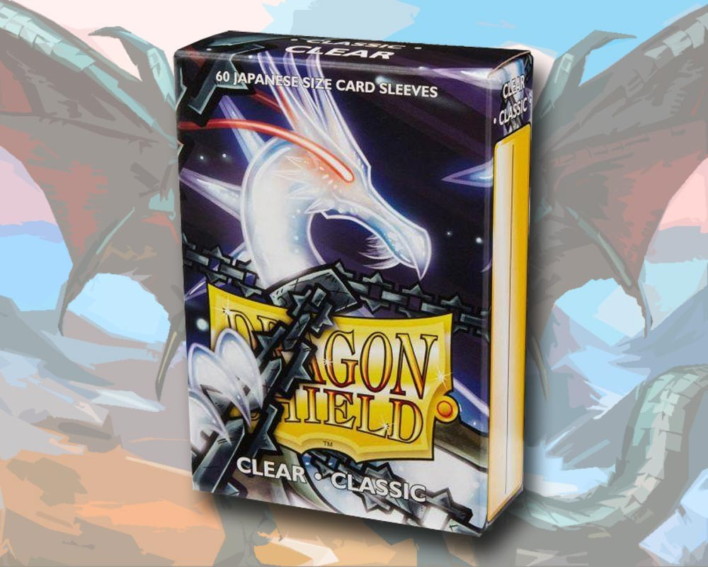 60 Dragon Shield Card Sleeves Mini Small Classic Clear