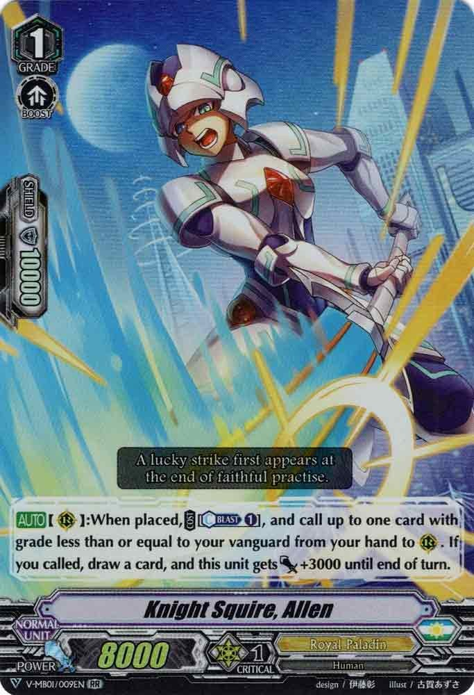 Knight Squire, Allen V-MB01/009EN RR