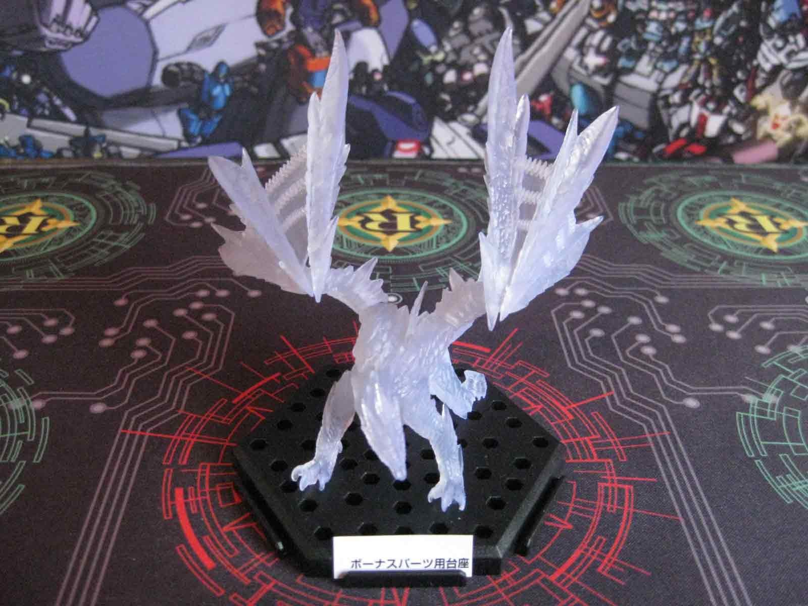 Valphalk / Barufaruku (Clear White) :: Monster Hunter Figure Builder Plus Volume 8