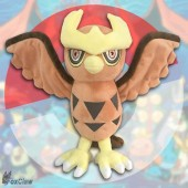 PokéMon Noctowl Plush ~12 inch / ~30 cm