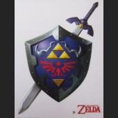 Shield & Sword #D1 Decal Sticker