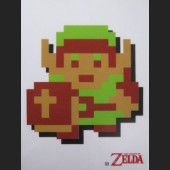 8-Bit Link #D3 Decal Sticker