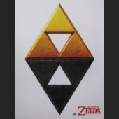 Triforce #D8 Decal Sticker