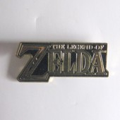 The Legend of Zelda Logo #ZP06 Pin