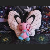 PokéMon Shiny Butterfree Plush ~12 inch / ~30 cm