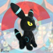 PokéMon Shiny Umbreon Plush ~12 inch / ~30 cm