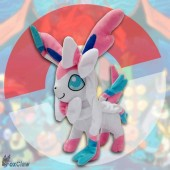 PokéMon Sylveon Plush ~12 inch / ~30 cm