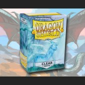 100 Dragon Shield Card Sleeves Standard Matte Clear
