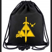 The Legend of Zelda Bag: Triforce Master Sword